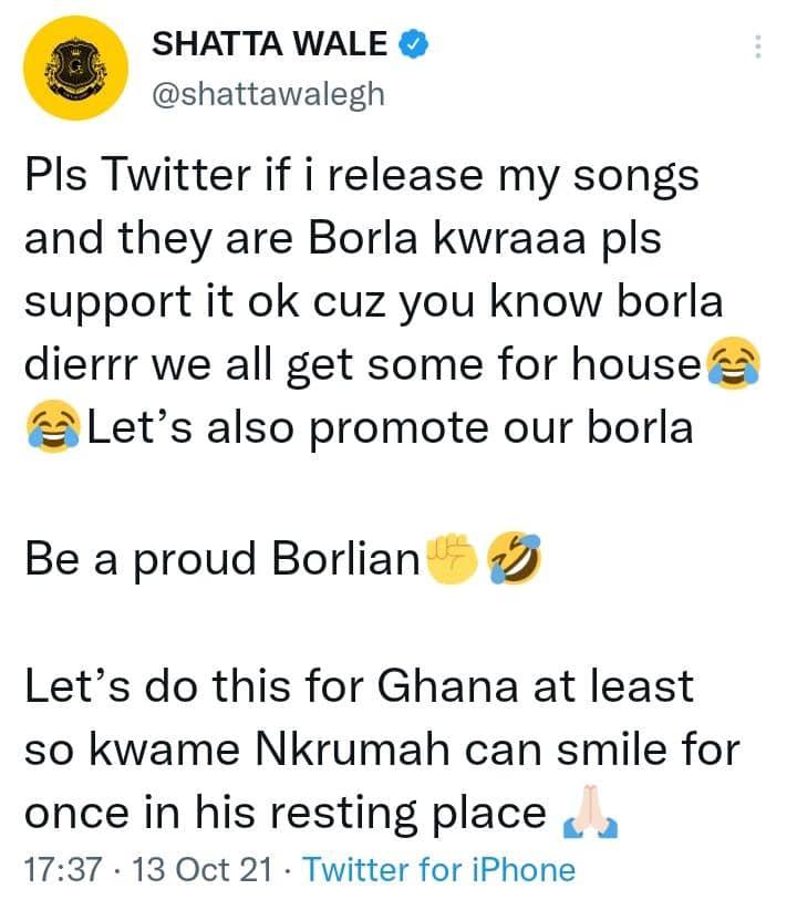 Pls Support My Borla Song