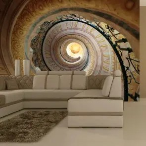 Fotomurale Decorative Spiral Stairs Carta Da Parato Erroi