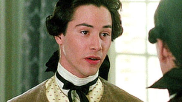 Image result for keanu reeves in dangerous liaisons