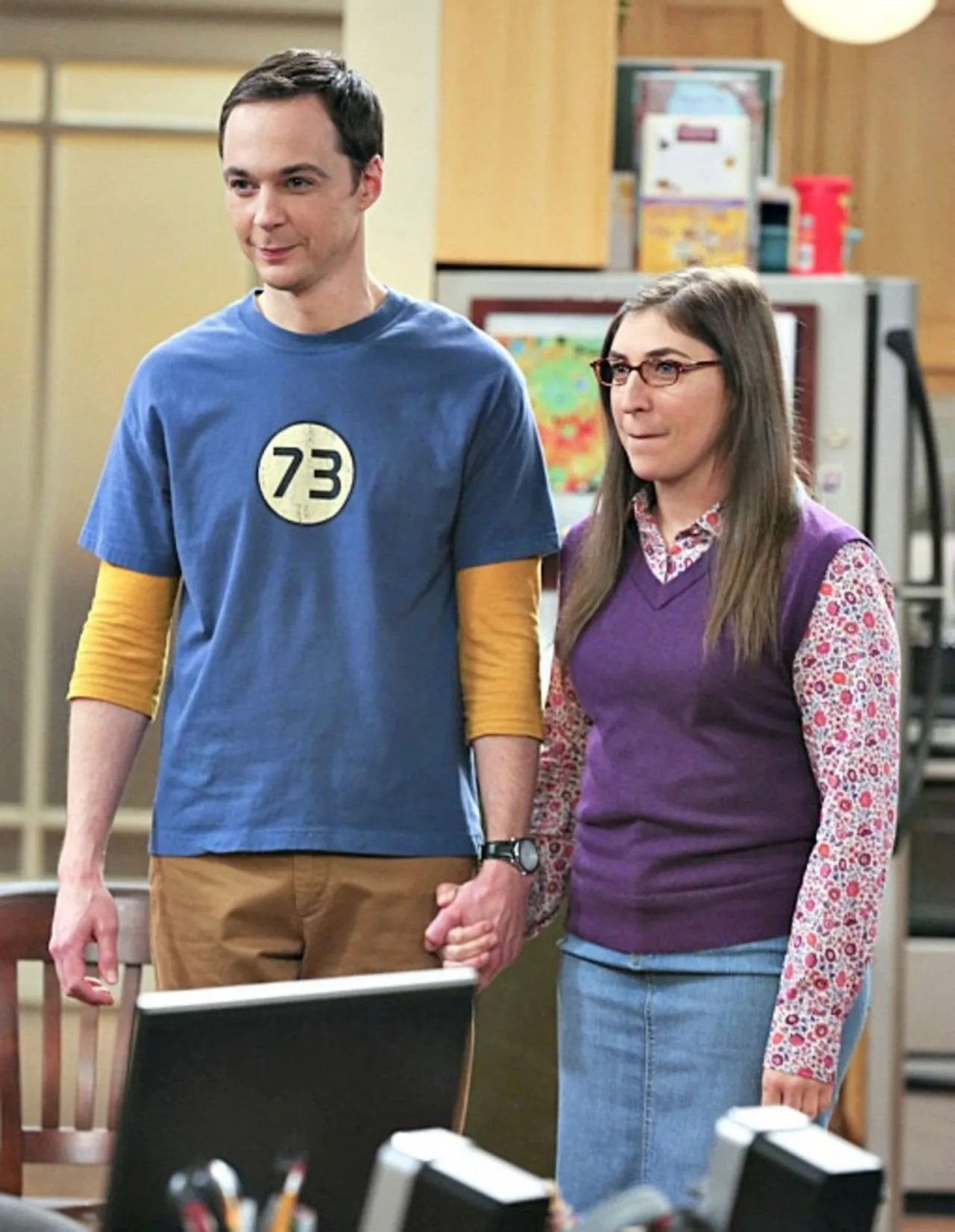 Mayim Bialik Reveals All About Sheldon And Amy S Sleepover