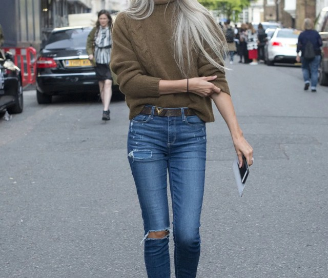 Skinny Jeans Outfit Ideas Getty Images