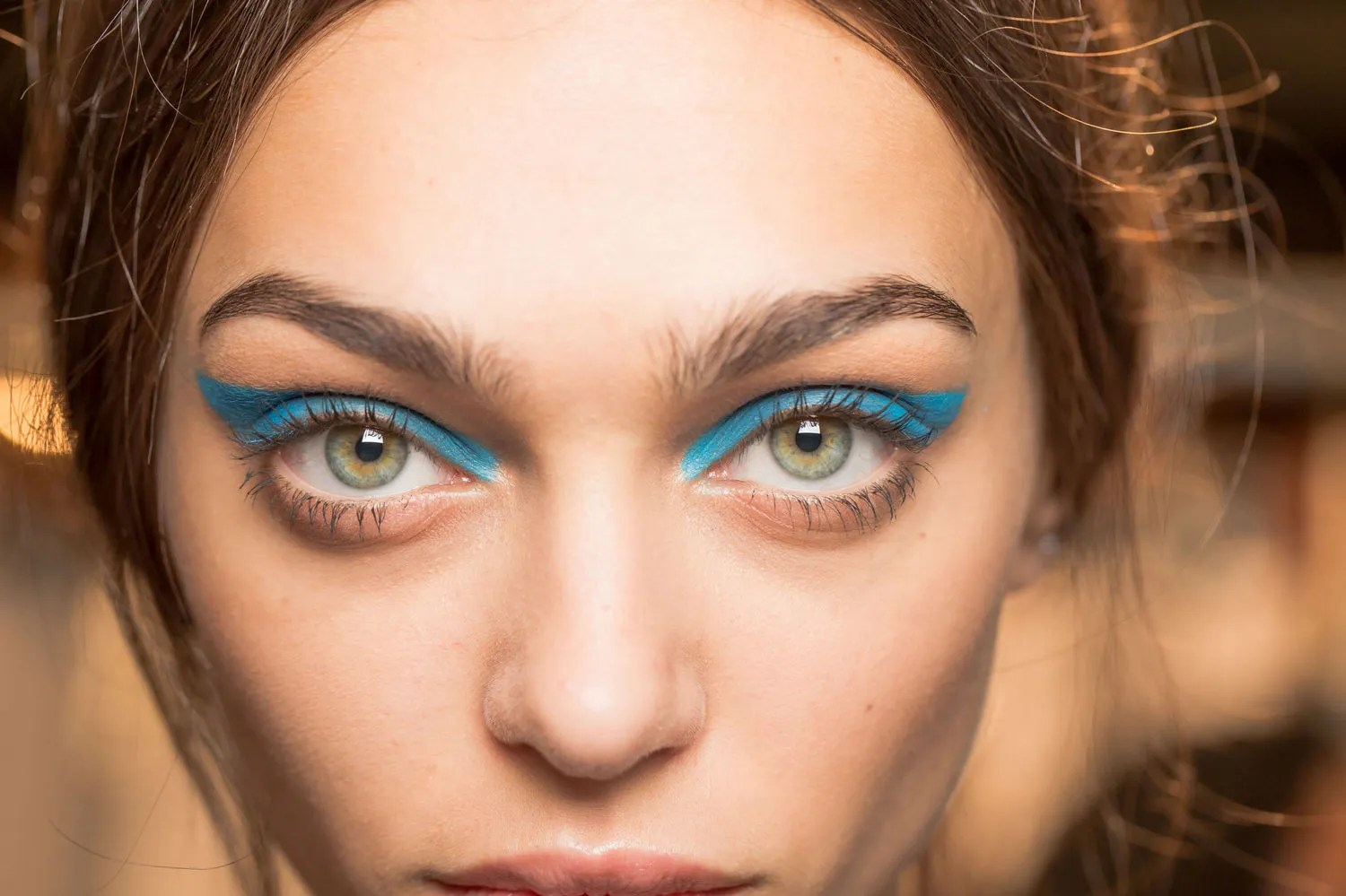 Blue The Unexpected Makeup Trend Thats Having A Real