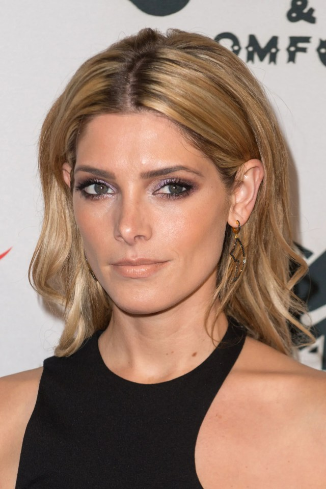 ashley greene proves tucking your hair behind your ears + a