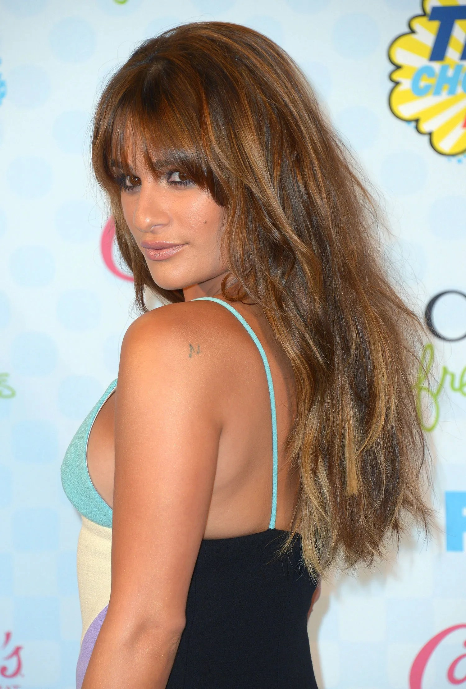 Lea Michele Went And Chopped Her Hair All Off Glamour