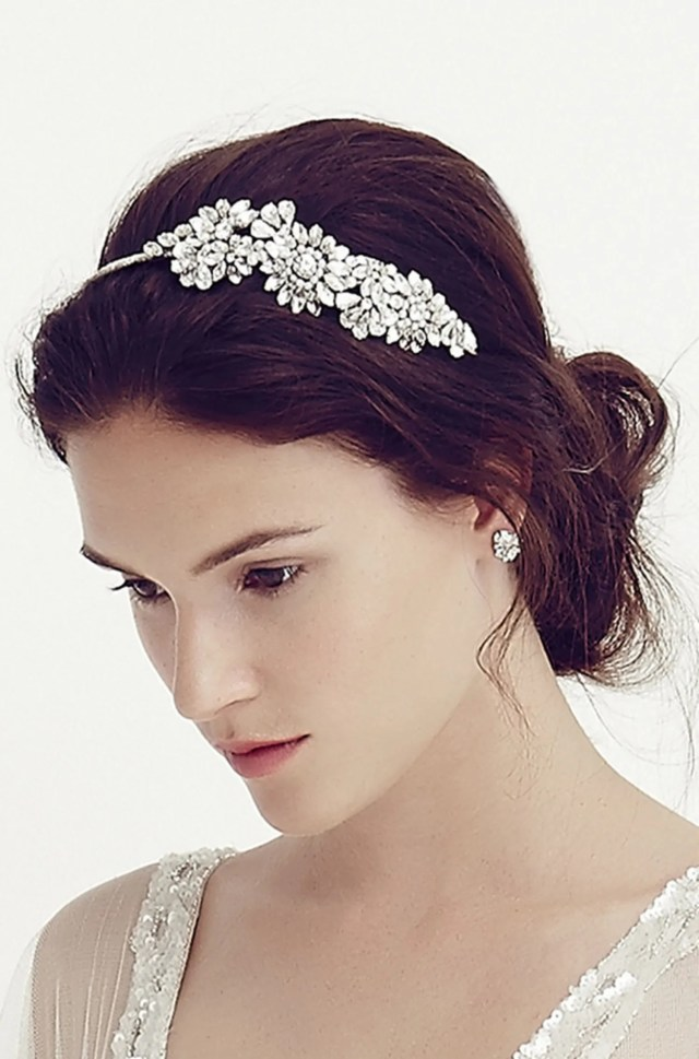 best wedding hair accessories: jenny packham bridal hair