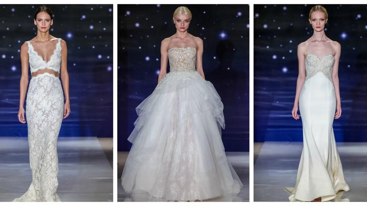 New Wedding Dresses, Wedding Gowns: Reem Acra Spring 2016