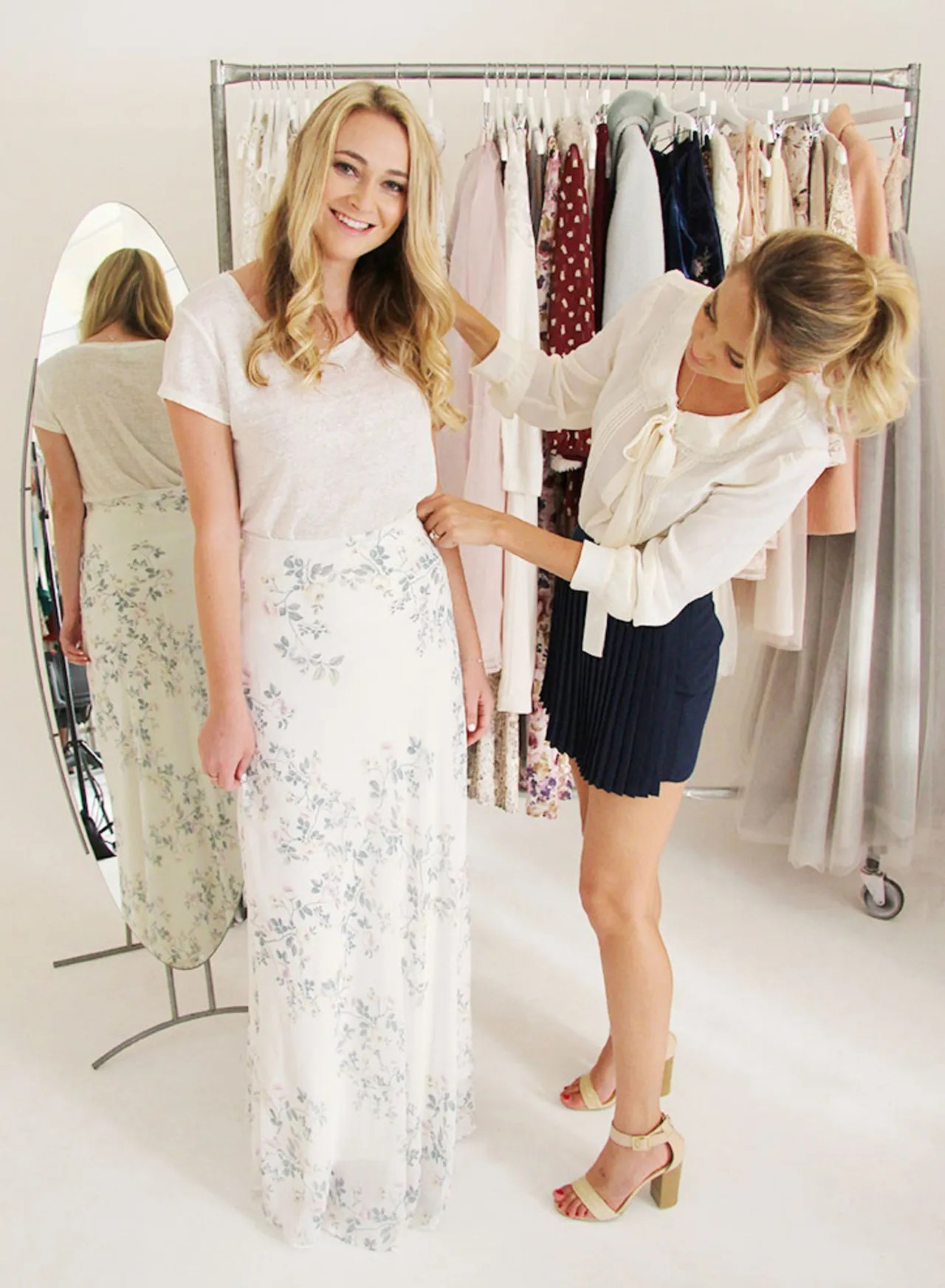 Lauren Conrad Styled 3 Outfits Exclusively For Us