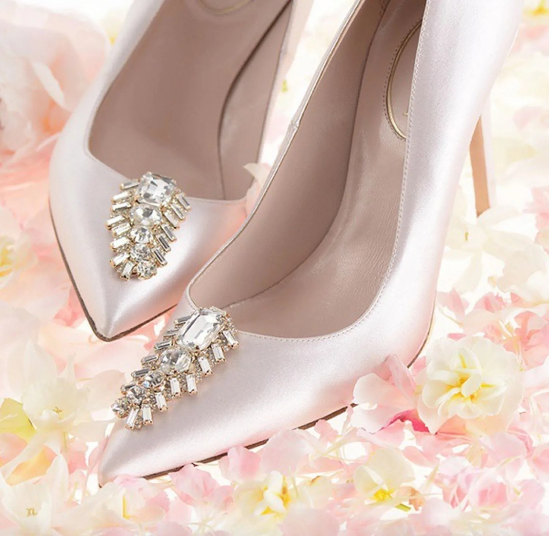 Cream Bridal Shoes