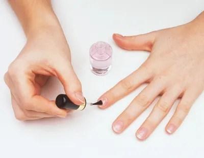 Image result for medium square plain nails no polish free image