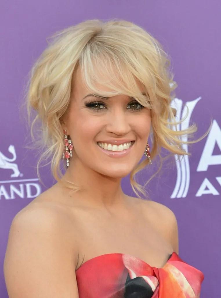 25 Celebrity Haircuts Thatll Make You Want Bangs Stat