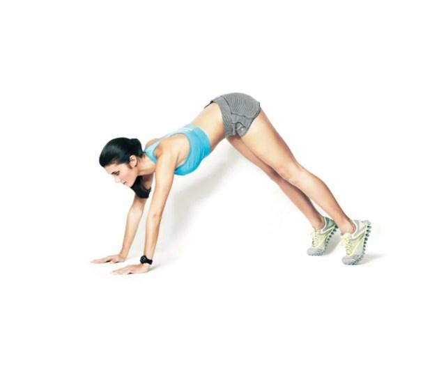 Toning Move 4: Inchworm