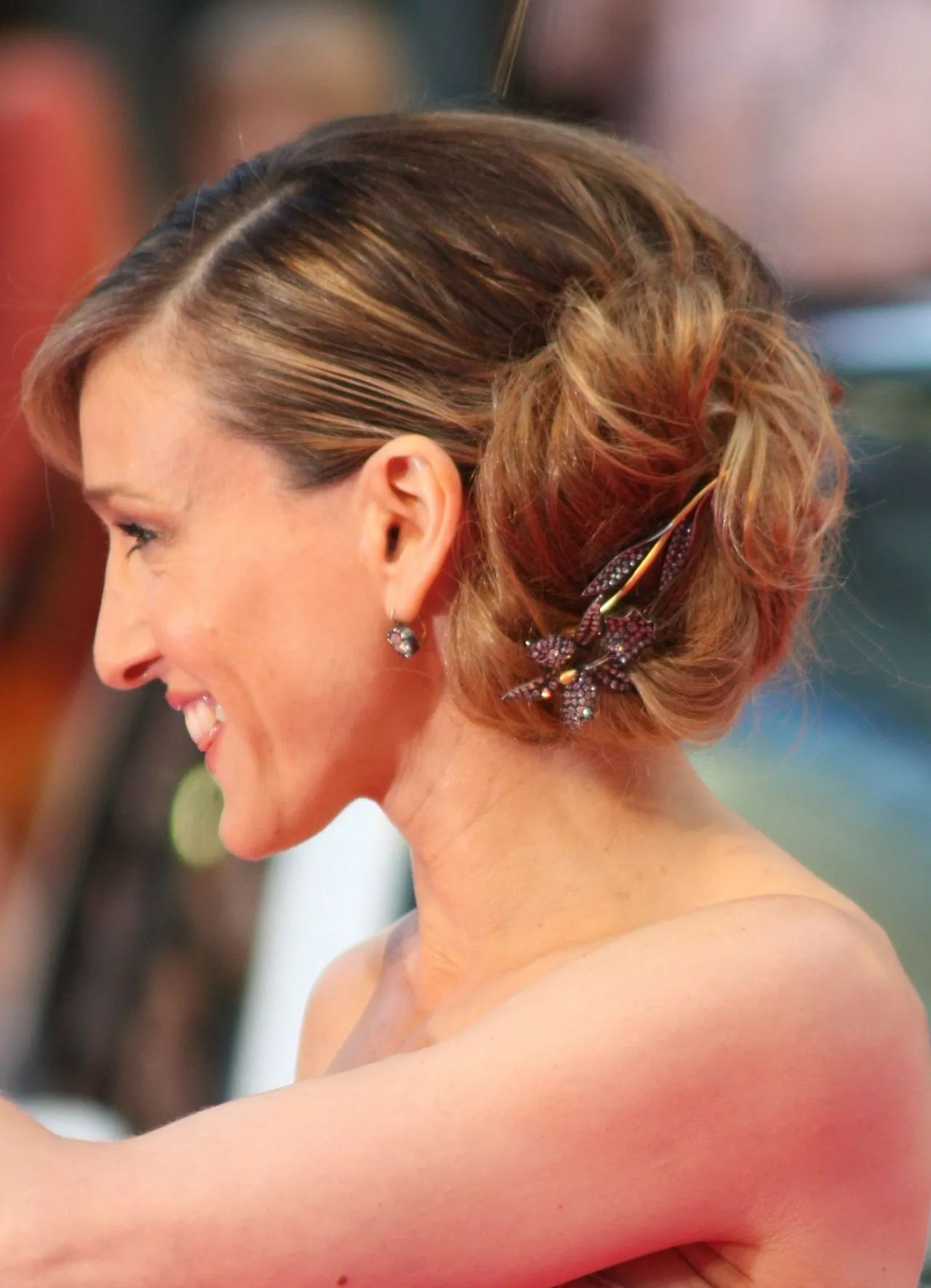 Sarah Jessica Parkers Best Updos Ever Glamour