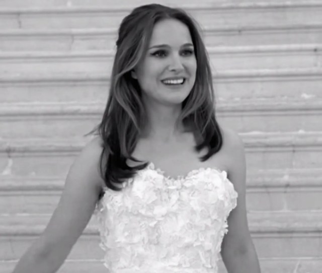 Natalie Portman For Miss Dior Celebrity Wedding Inspiration Wedding Ideas Glamour