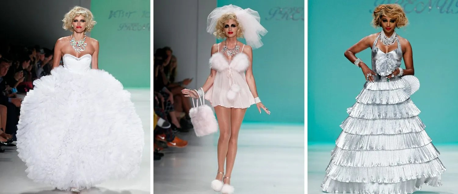 Betsey Johnson Real Housewives Runway: Wedding Dresses By
