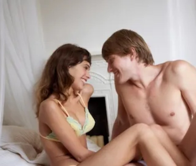 Couple Lying In Bed Sm