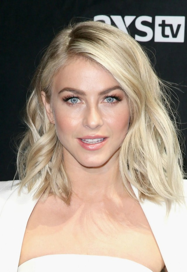 julianne hough's new haircut and color are everything you