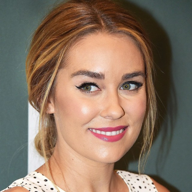 the lauren conrad way to make pulled-back hair even cuter