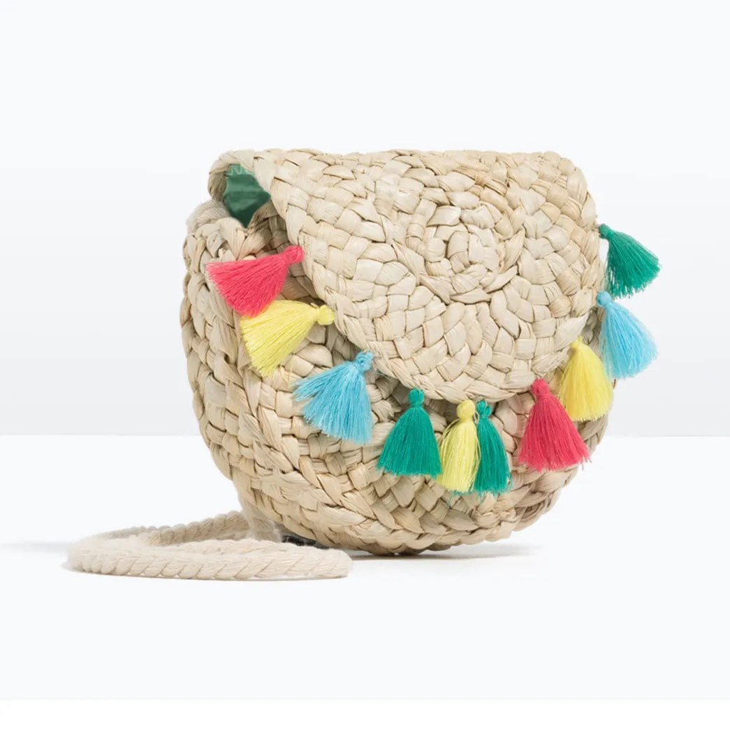 Spring Accessories Trend Straw Wicker And Raffia Bags