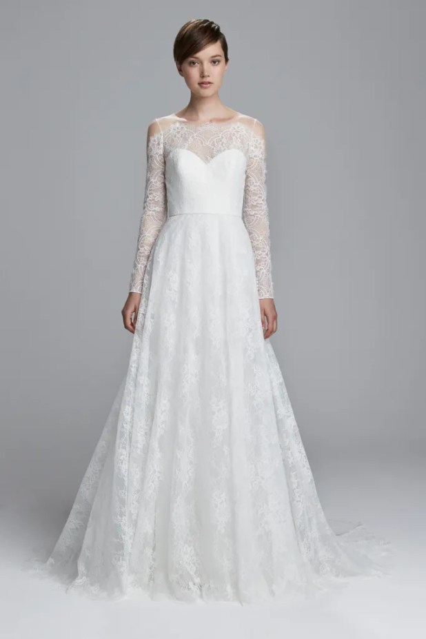 d30357e0889b 44 Brand New Wedding Dresses That 2017 Brides Need To See Glamour