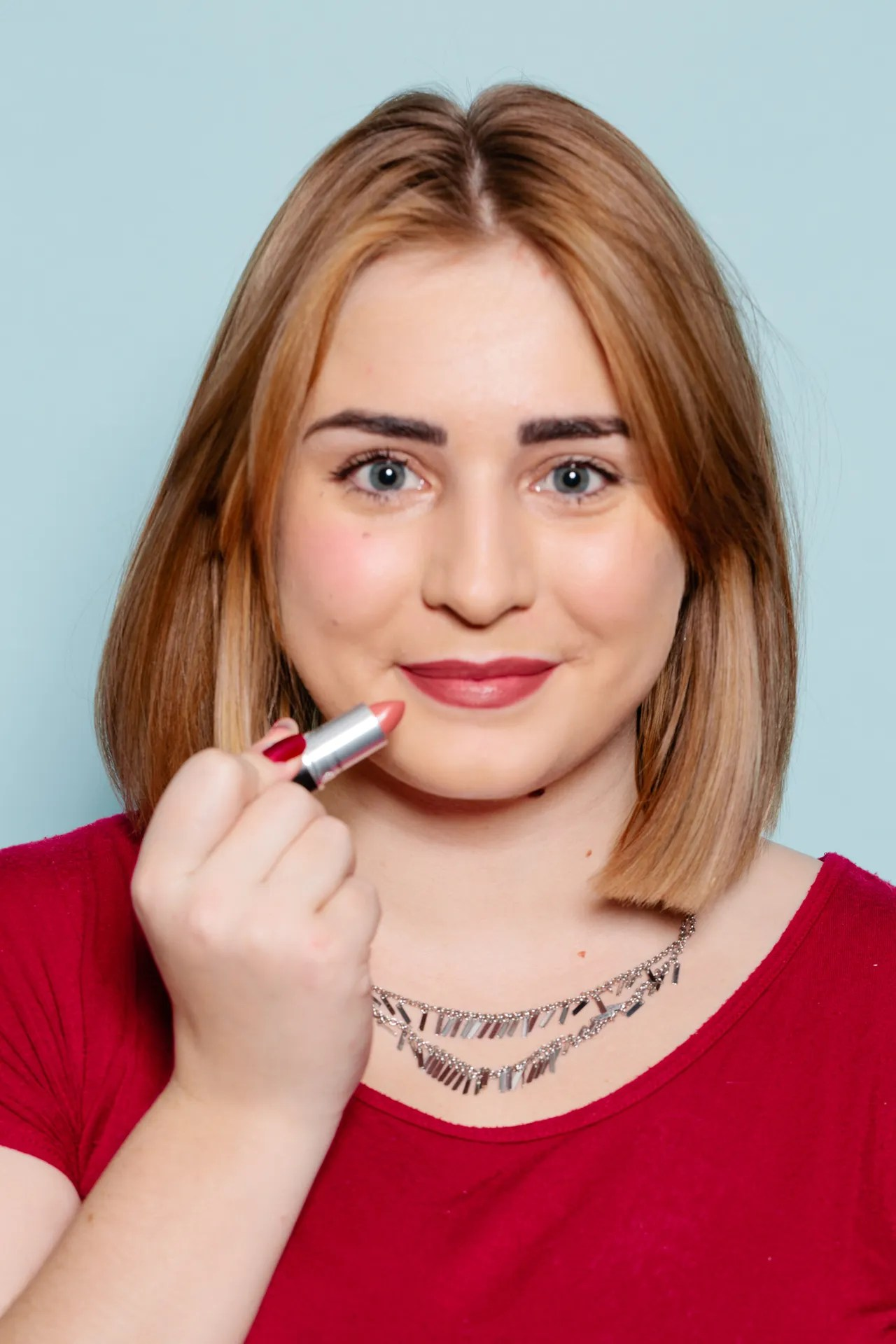 MAC Whirl Lipstick Pictures On Women With Different Skin