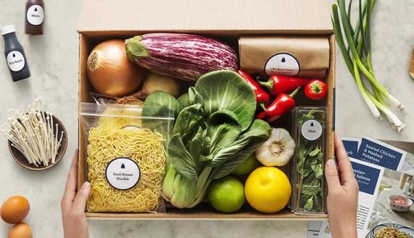 vegan meal delivery ingredients