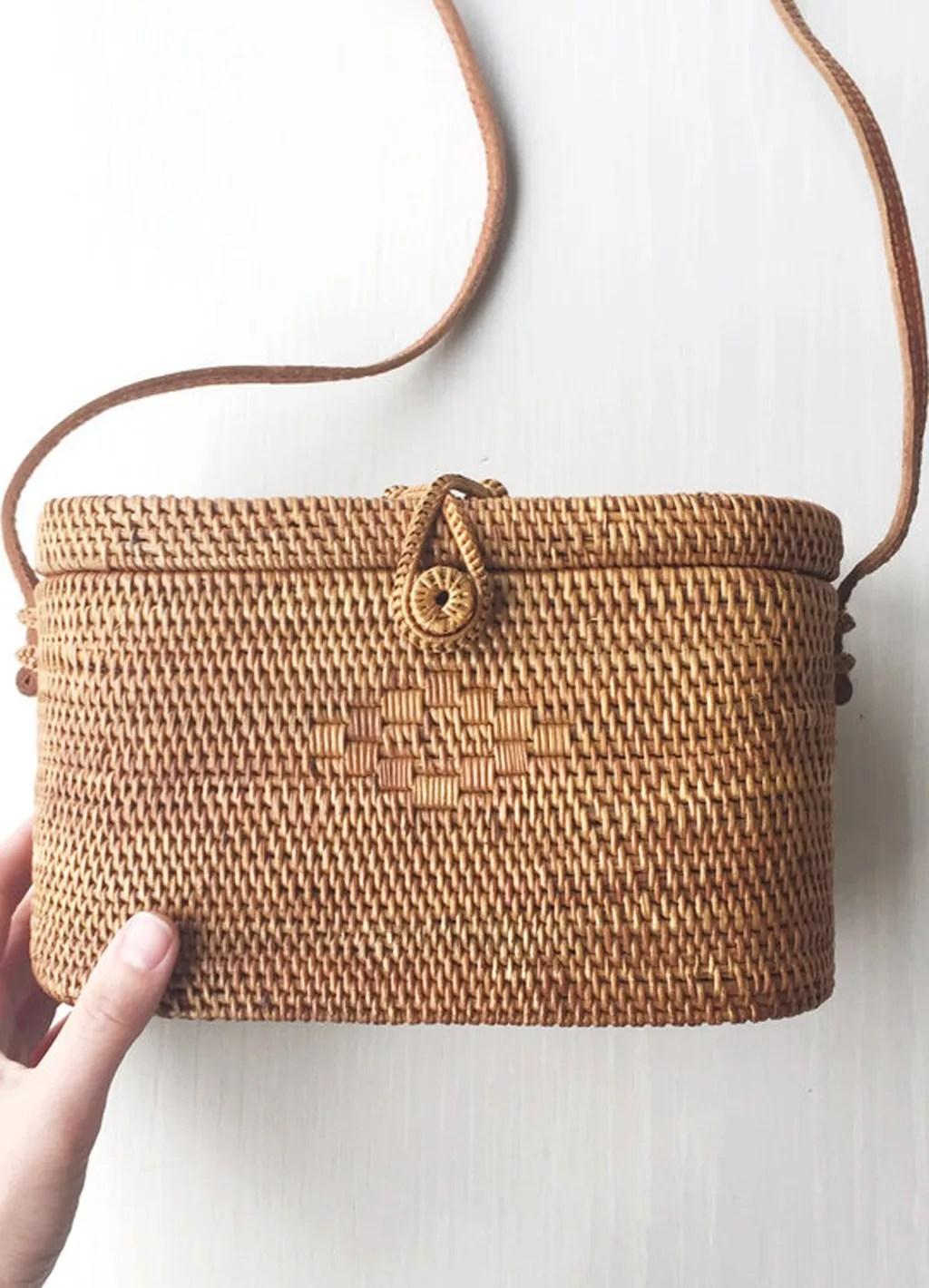 Spring 2018 Wardrobe Essentials: Straw Bag