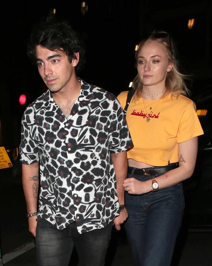 London Celebrity Sightings -  July 16, 2018