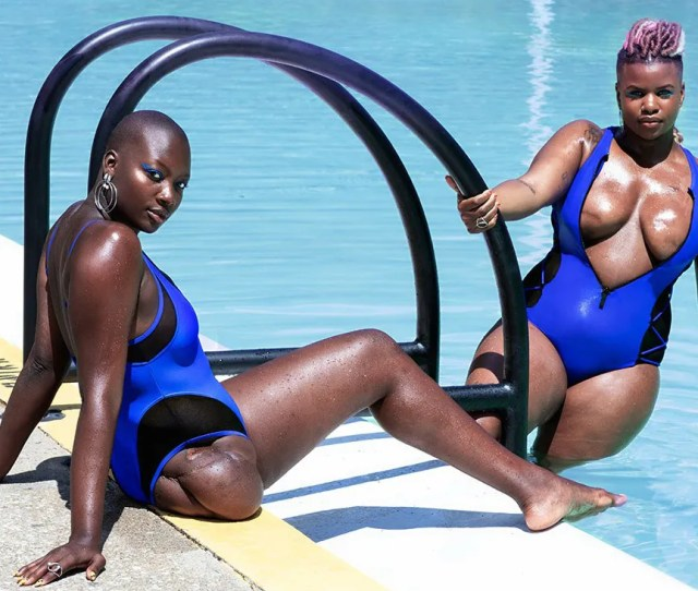 Chromat Is Rewriting The Pool Rules With Its Latest Swim Campaign Glamour