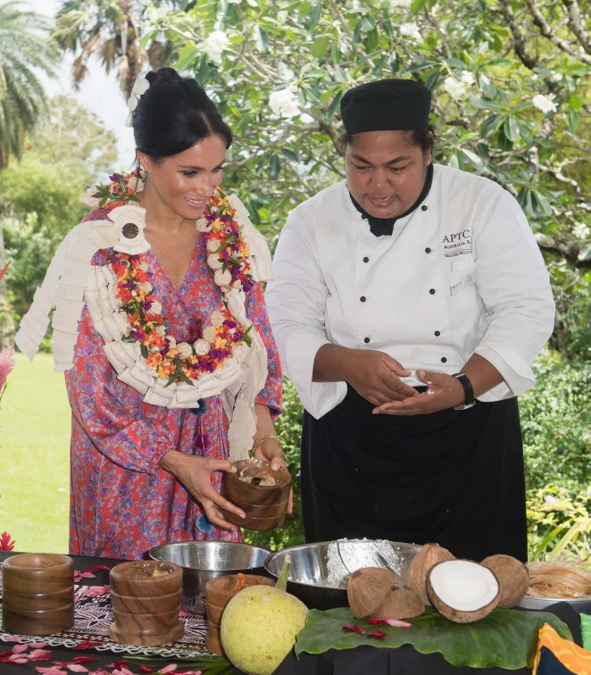 The Duke And Duchess Of Sussex Visit Fiji - Day 2
