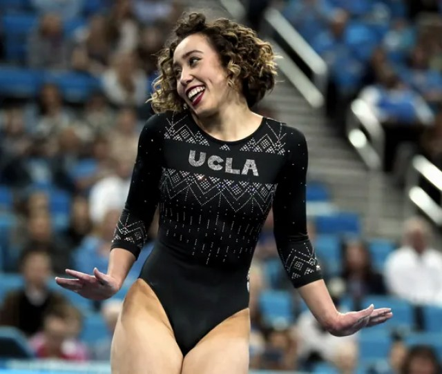 Ucla Gymnast Katelyn Ohashis Perfect  Floor Routine Is Everything You Need In Your Life Right Now