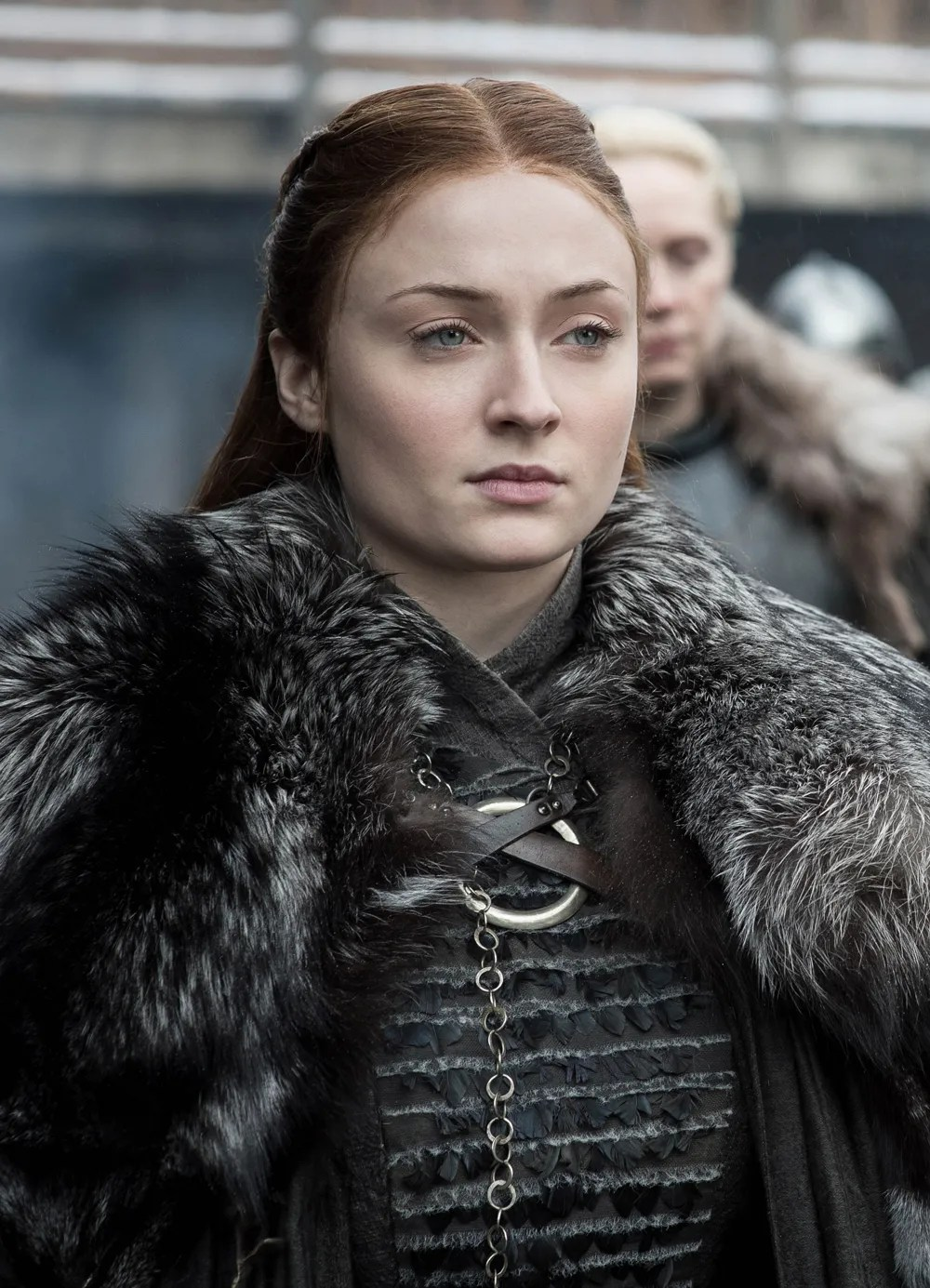 Sansa Stark on the final season of Game of Thrones