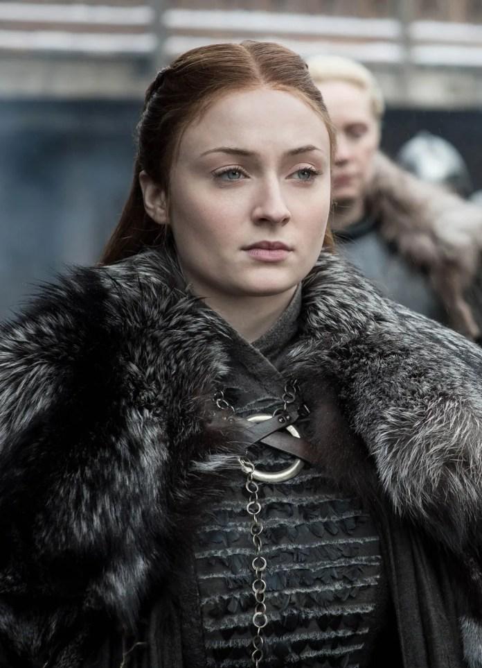 Sansa Stark on the final season of Game of Thrones