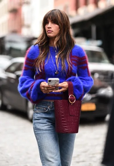 Rocky Barnes is seen outside the Cynthia Rowley show during New York Fashion Week SS20.