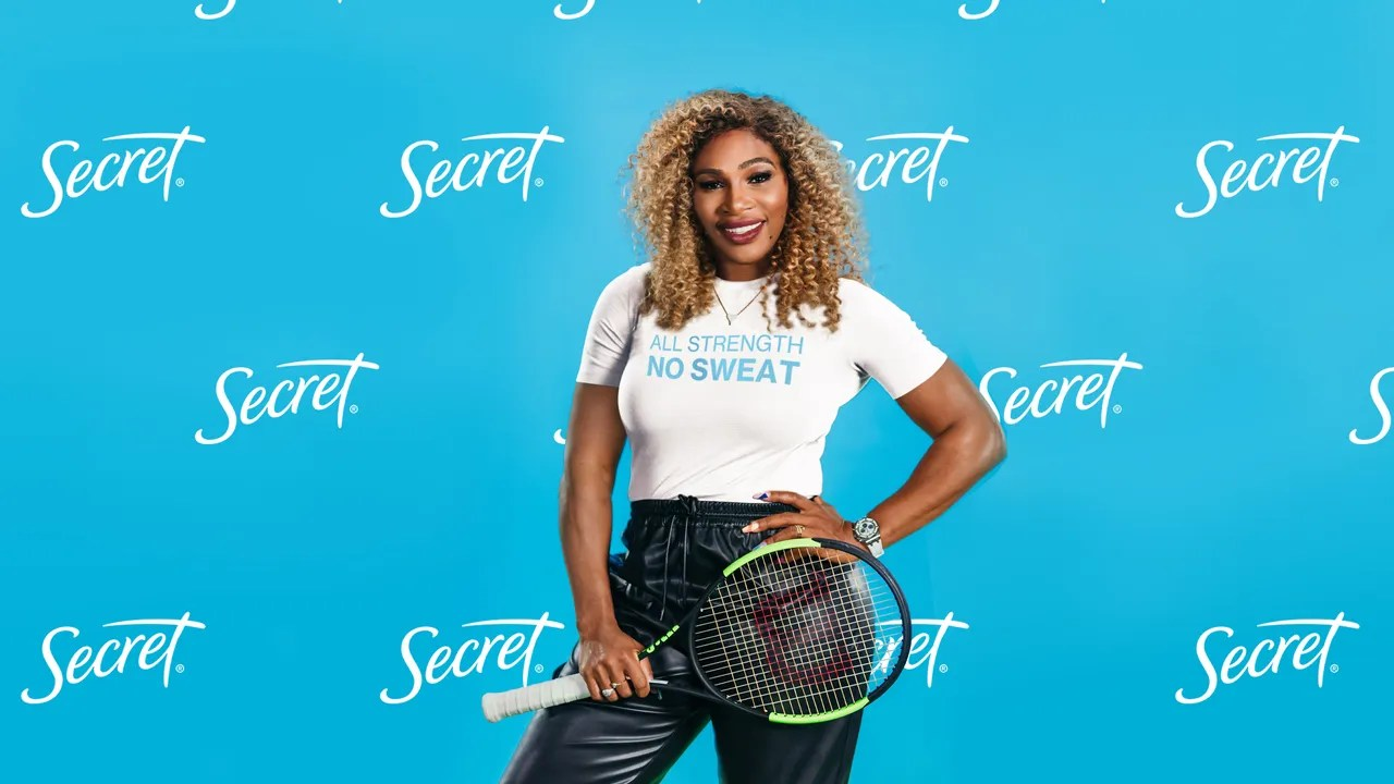 Serena Williams and Secret are launching a study on gender inequality in sports—and getting women
