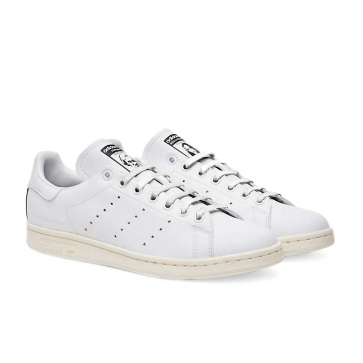 Stan Smith and Stella McCartney vegan white sneakers