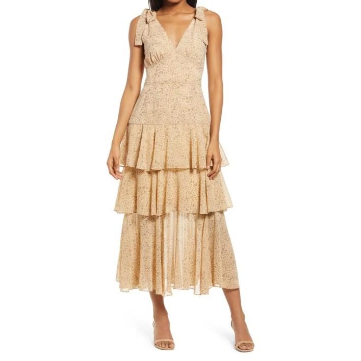 Wayf Hampton Sleeveless Tiered Dress