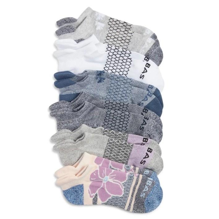 bombas assorted ankle socks six-pack