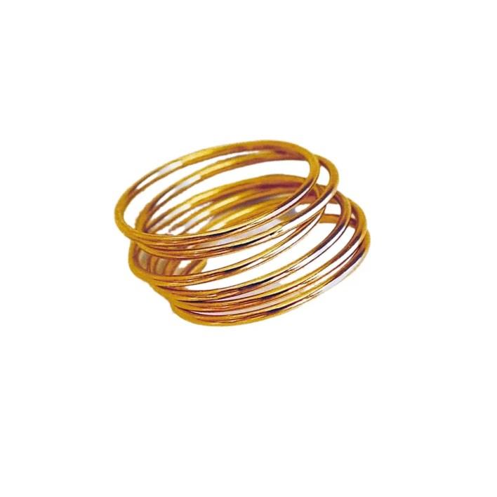 Ten Wilde 14k Gold Stacking Ring