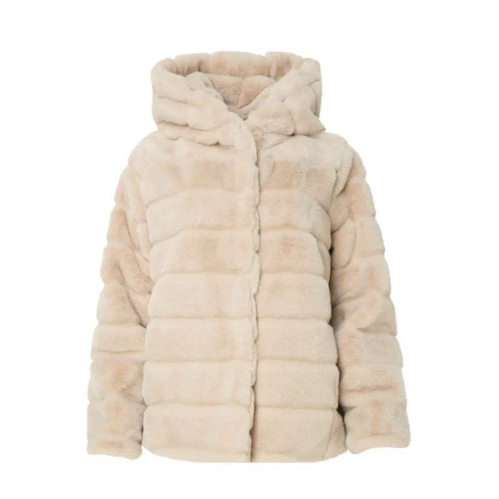 Goldie Faux Fur Hooded Jacket