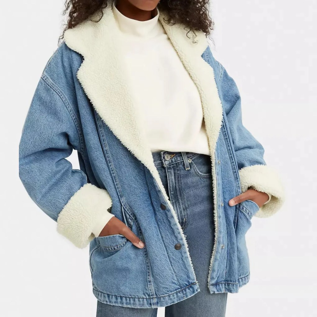 Retro Sherpa Jacket