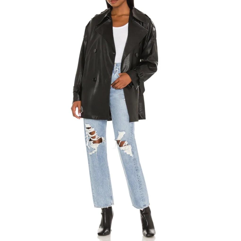 Peoria Vegan Leather Jacket