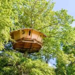 Tree House Retreat On Lac De Bonnal France