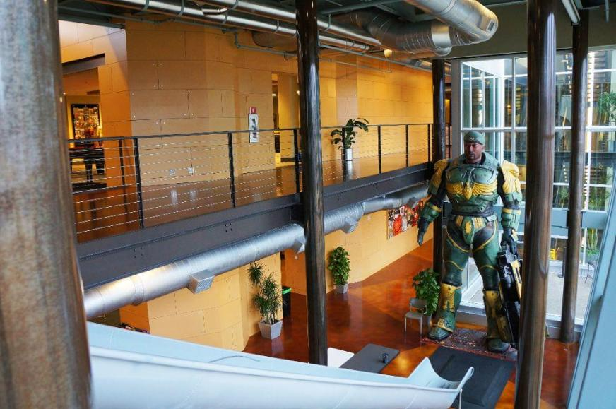 Because making games should b... - Epic Games Office Photo ...