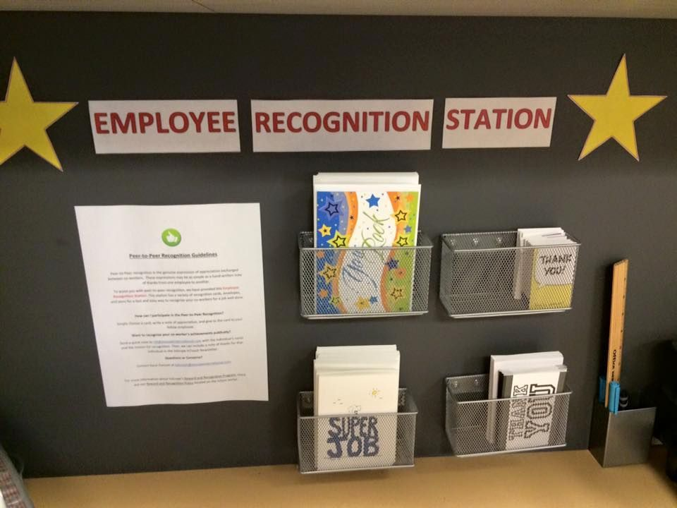 Board Ideas Employee Recognition