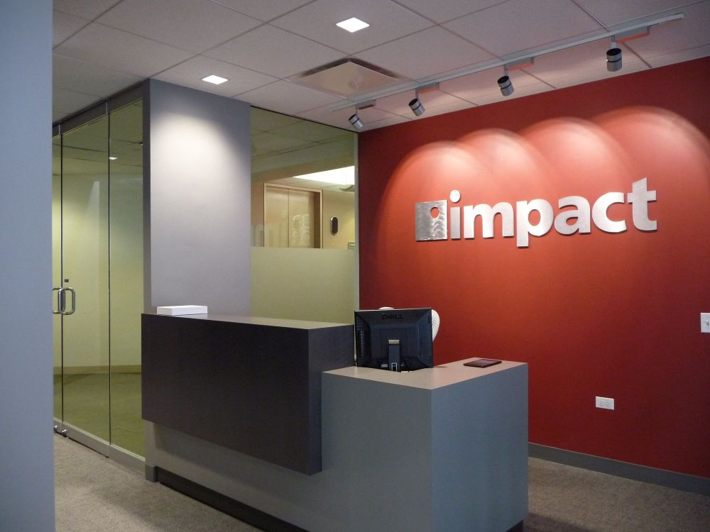 Reception And Entryway At Our Impact Networking
