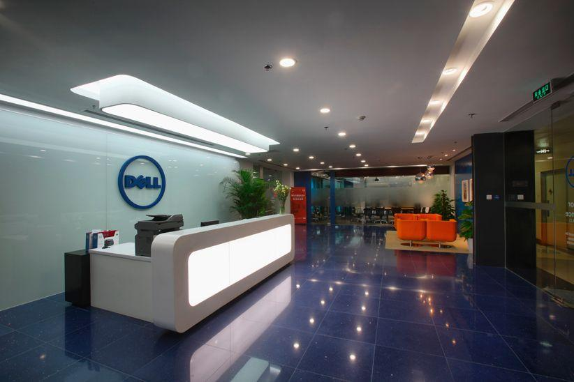 Reception Area Dell Office Photo Glassdoor