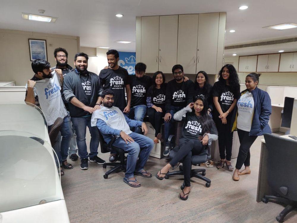 Team Shirts Fresh Prints Office Photo Glassdoor Co In