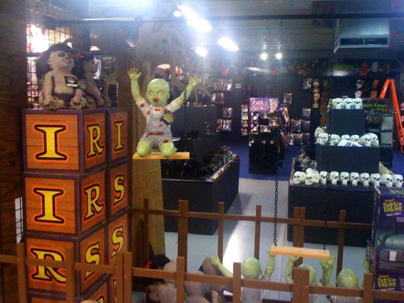 zombie babies display spirit halloween office photo glassdoor ca