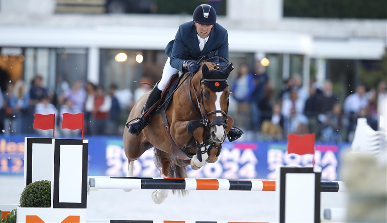 Simon Delestre Chesall Longines Global Champions Tour Roma