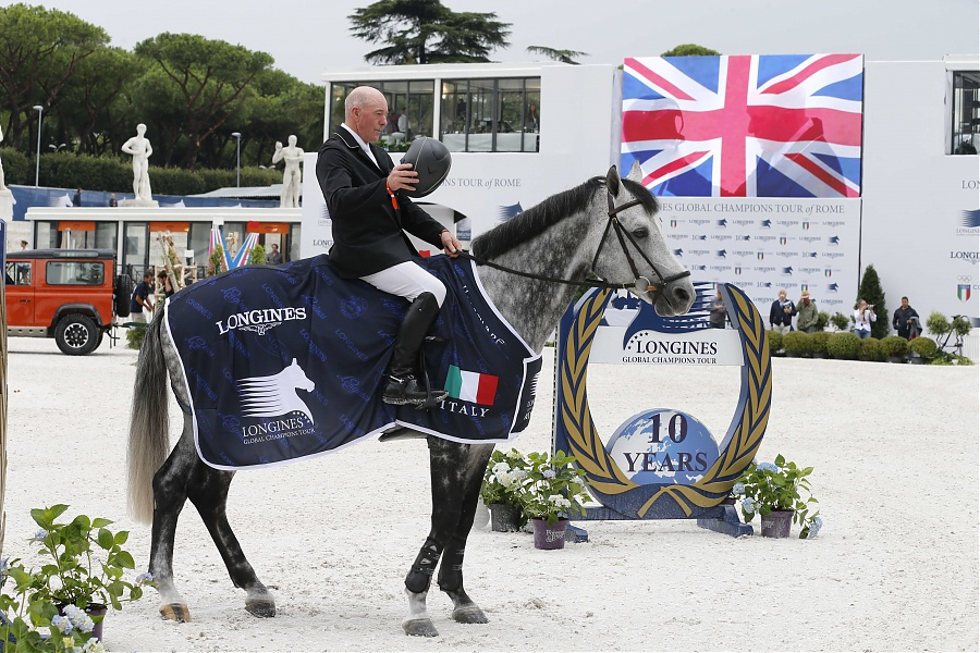 Jhon Whitaker Castlefield Cristobal 21 Longines Global Champions Tour Roma